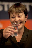 Caroline Lucas. Party. Green Party PCS meeting FIGHTING FOR OUR FUTURE, THERE IS AN ALTERNATIVE TO AUSTERITY, TUC conference Brighton - John Harris - 13-09-2015