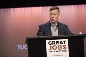 Mike Clancy Prospect speaking TUC conference Brighton - John Harris - 15-09-2015