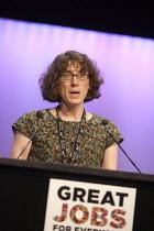 Eleanor Wade Prospect speaking TUC conference Brighton - John Harris - 15-09-2015