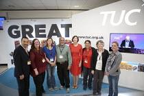 Napo delegation TUC conference Brighton - John Harris - 15-09-2015