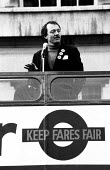 Ken Livingstone Labour Leader of GLC Keep Fairs Fare campaign. ... - John Harris - ,1980s,1981,activist,activists,against,CAMPAIGN,campaigner,campaigners,campaigning,CAMPAIGNS,council,DEMONSTRATING,DEMONSTRATION,DEMONSTRATIONS,GLC,Greater London Council,ken,Leader,Local Authority,PO