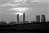 The radioactive waste reprocessing plant at Sellafield (formally Windscale) British Nuclear Fuels Cumbria - John Harris - 26-07-1986