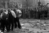 Poll Tax riot and protests London 1990