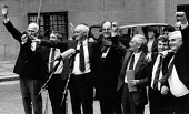 Birmingham Six freed after 16 years London 1991