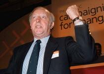 Arthur Scargill NUM speaking at TUC Conference 1994 - John Harris - 30-09-1994