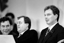 Tony Blair, John Prescott, Gordon Brown MP Labour Party Conference 1994 - John Harris - 01-10-1994