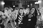 Women MPs and PPC applauding a speech infavour of positive discrimination for women, Labour Party Conference 1994 - John Harris - 01-10-1994