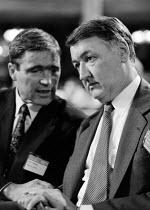 Bill Jordon and Paul Gallagher AEEU at TUC 1994 - John Harris - 30-09-1994