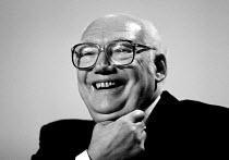 Jimmy Knapp RMT laughing TUC 1994 - John Harris - 30-09-1994