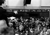 Mass meeting of local council workers Coventry - John Harris - 20-01-1995