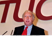 Arthur Scargill NUM speaking at TUC Conference 1995 - John Harris - 30-08-1995