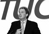 Tony Blair MP speaking at TUC Conference 1995 - John Harris - 30-09-1995