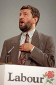 David Blunkett speaking at Labour Party Conference 1995 - John Harris - 01-10-1995