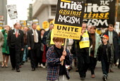 TUC Unite Against Racism march Manchester - John Harris - 28-10-1995