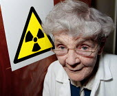 Dr. Alice Stevens a 90 year old scientist responsible for research revealing the true effects of radiation exposure from atomic bomb detonations in Japan at the end of the second world war. Dr. Steven... - John Harris - 1990s,1996,age,ageing population,atomic,bigotry,bomb,BOMBS,discrimination,elderly,equal,EQUALITY,female,HEA health,INEQUALITY,Japan,job,jobs,lab lbr work,Male Chauvinism,Nuclear,old,people,person,pers