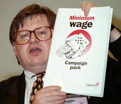 Ian McCartney MP speaking at Labour Party conference 1996 - John Harris - 01-10-1996