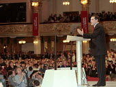 Gordon Brown MP speaking at Labour Party conference 1996 - John Harris - 01-10-1996