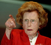 Barbara Castle MP speaking on pensions at Labour Party conference 1996 - John Harris - 01-10-1996