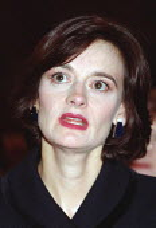 Cherie Blair at Labour Party conference 1996 - John Harris - ,1990s,1996,Conference,conferences,Labour Party,Party,POL,POL politics,political,POLITICIAN,POLITICIANS,Politics,SPEAKER,SPEAKERS,speaking,SPEECH