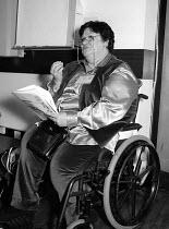 Unions'96 conference Congress House 23/11/96 - John Harris - 1990s,1996,cities,city,conference,conferences,disabilities,disability,disable,disabled,disablement,House,houses,incapacity,ipms,member,member members,members,minorities,needs,people,social,SOI social