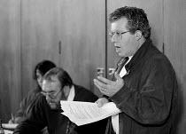 Tony Young CWU Unions'96 conference TUC Congress House 23/11/96 - John Harris - 23-11-1996
