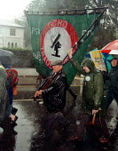 GCHQ trade unions march & rally to celebrate the restoration the right to organize trade unions GCHQ Cheltenham 31.8.97 - John Harris - 31-08-1997