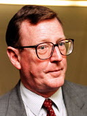 David Trimble at Labour Party Conference 1997 Brighton - John Harris - 1990s,1997,conference,conferences,Loyalist,Loyalists,member,member members,members,Northern Ireland,Party,people,POL politics Irish,The Troubles,Trade Union,Trade Union,trade unions,Trades Union,Trade