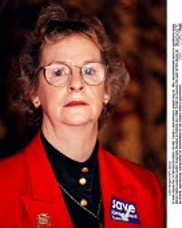 Julie Morgan MP Labour - John Harris - ,1990s,1997,Conference,conferences,Labour Party,POL,POL politics,political,POLITICIAN,POLITICIANS,Politics,SPEAKER,SPEAKERS,speaking,SPEECH