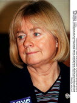 Ann Clwyd MP Labour - John Harris - ,1990s,1997,Conference,conferences,Labour Party,POL,POL politics,political,POLITICIAN,POLITICIANS,Politics,SPEAKER,SPEAKERS,speaking,SPEECH