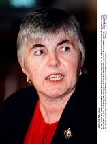 Maria Fyfe MP Labour - John Harris - ,1990s,1997,Conference,conferences,Labour Party,POL,POL politics,political,POLITICIAN,POLITICIANS,Politics,SPEAKER,SPEAKERS,speaking,SPEECH