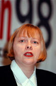 Angela Eagle MP Under Sec. of state Dept. of the Environment at CLES conference - John Harris - 1990s,1998,conference,conferences,ENI environmental issues,Environment,female,POL politics
