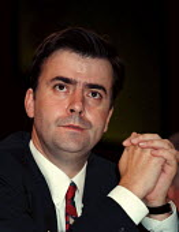 Mark Seddon Labour NEC Editor Tribune at Tribune Rally at the Labour Party Conference - John Harris - 29-09-1998