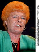 Mary Turner GMB & NEC speaking at the Labour Party Conference - John Harris - 01-10-1998