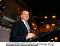 Tony Cooper Gen Sec EMA speaking at the Trades Union Congress - John Harris - 15-09-1998