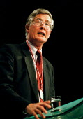 Michael Meacher MP speaking Labour Party Conference 1999 - John Harris - 29-09-1999
