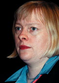 Angela Eagle MP Labour Party Conference 1999 - John Harris - 1990s,1999,Conference,conferences,female,Party,pol politics