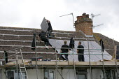 Installing Solar panels on the roof of 2 terraced houses rented for multiple occupancy, Stratford upon Avon, Warwickshire. - John Harris - 08-07-2011