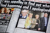 Report of the Murdoch visit to the family of murdered teenager Milly Dowler. A full-page advert in The Sun newspaper bearing the signature of Rupert Murdoch and declaring: We are sorry. Hackgate. The... - John Harris - 2010,2010s,adolescence,adolescent,adolescents,advert,ADVERTISED,advertisement,advertisements,advertising,ADVERTISMENT,adverts,apologetic,apologising,apologizing,apology,corruption,families,family,jour