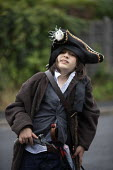 Boy dressed up as a pirate. - John Harris - 2010s,2011,ACE,act,acting,actor,actors,amateur,arts,boy,boys,child,childhood,children,culture,dressed up,juvenile,juveniles,kid,kids,Leisure,LFL,LIFE,male,people,play,playing,RECREATION,RECREATIONAL,y