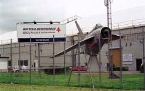 British Aerospace Military Aircraft and Aerostructures @ Samlesbury site nr. Preston. - Jess Hurd - 01-07-1999