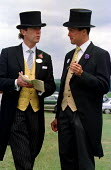 Ascot racecourse, discussing the form. - Jess Hurd - &,2000,2000s,AFFLUENCE,AFFLUENT,bet,BETS,betting,Bourgeoisie,cigar,class,communicating,communication,conversation,conversations,dialogue,discourse,DISCUSS,discusses,discussing,DISCUSSION,Domesticated