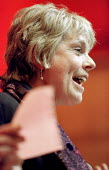 Louise Christian speaks at a meeting in defence of asylum seekers, Conway Hall, London - Jess Hurd - 16-03-2001