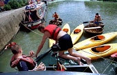 Tideway Adventurers nautical youth group, Rally of Boats festival, Three Mills Island, Bromley-by-Bow, East London. - Jess Hurd - 04-08-2001