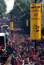 Thousands celebrate Notting Hill Carnival London - Jess Hurd - 27-08-2001