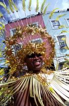 Elaborate costumes Notting Hill Carnival London - Jess Hurd - 27-08-2001