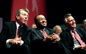 Alan Johnson, Paul Boateng and Peter Hain Labour Party Conference, Brighton 2001. - Jess Hurd - 01-10-2001