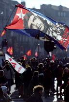Che Guevara, D14 Demonstration for a different Europe and a different world EU Summit Laeken, Belgium - Jess Hurd - 14-12-2001