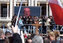 Jean-Marie Le Pen Presidential rally, Paris. - Jess Hurd - 01-05-2002