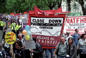 National demonstration in defence of Asylum seekers and refugees, London. - Jess Hurd - 22-06-2002
