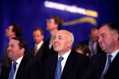 Iain Duncan Smith with his Shadow cabinet, Conservative Party Conference, Bournemouth. - Jess Hurd - 2000s,2002,Conference,conferences,Iain Duncan Smith,MP,MPs,Party,pol politics,politician,politicians,SPEAKER,SPEAKERS,speaking,SPEECH,UK